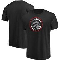 Men's Majestic Black Toronto Raptors Victory Century T-Shirt