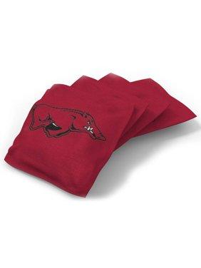 4-Pack Bean Bag Set, College
