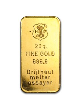 20 gram Gold Bar - Secondary Market