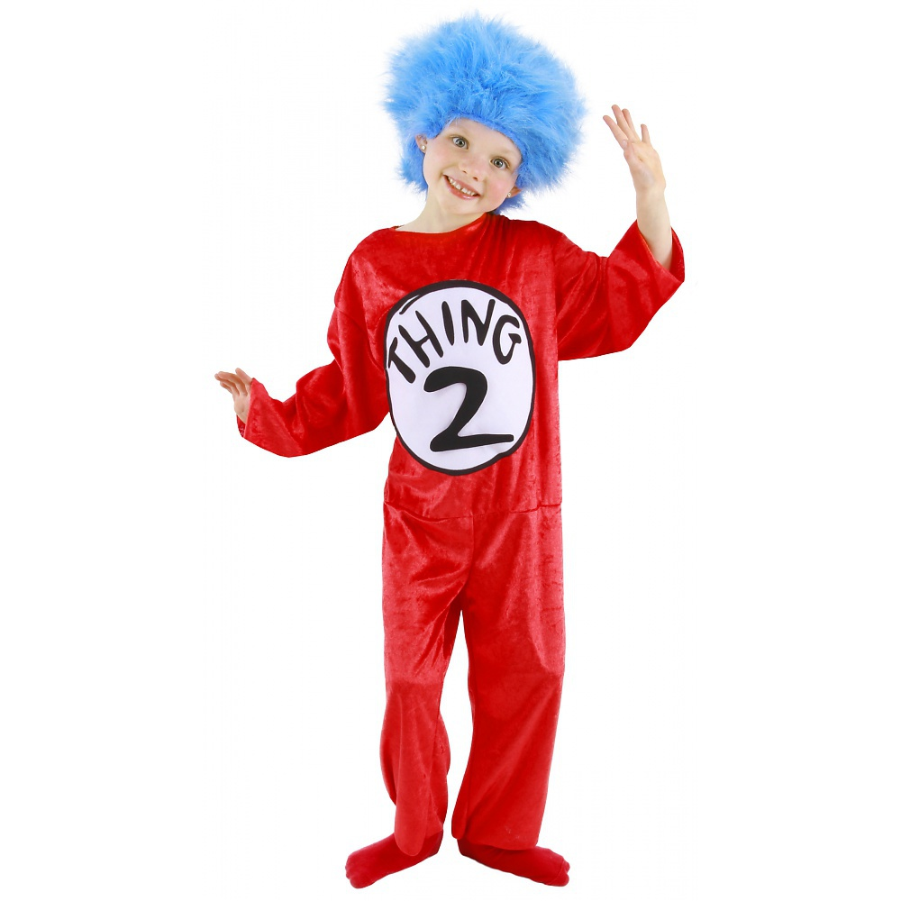 Dr. Seuss Thing 1 and Thing 2 Child Halloween Costume