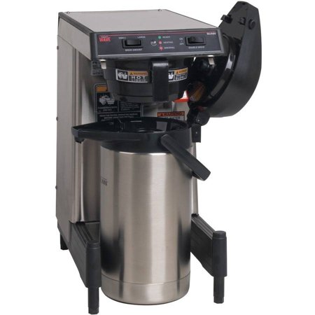 Bunn Airpot Coffee Brewer With Adjustable Legs  Low Profile  Wave15s Aps