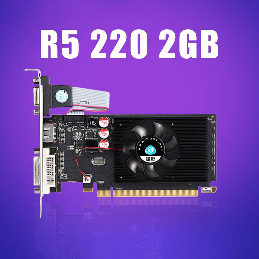Dell AMD Radeon HD 6450 1GB GDDR3 PCIe x16 DVI D-Port ...