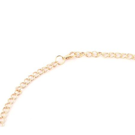 Lady Metal Vintage Style Butterfly Shape Chain Choker Necklace Earrings Set Pink - image 1 of 2