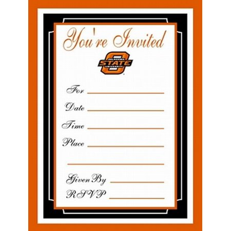 Oklahoma State Cowboys Formal Invitations - Cowboy Invitations