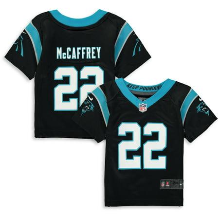 99d08e54e5544 Christian McCaffrey Carolina Panthers Nike Infant Player Game Jersey - Black  - Walmart.com