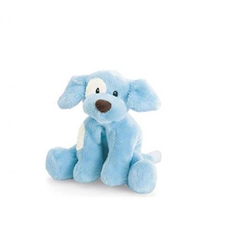 Puppy Rattle (Spunky Puppy Baby Rattle - Blue)