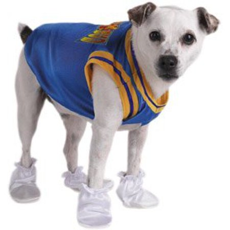 Basketball Air Bud Dog Costume~Small / Blue