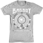 Bad Boy International Player T-Shirt - Premium Heather Gray