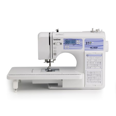 Brother Computerized Sewing and Quilting Machine, HC1850, 130 Built-in Stitches