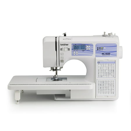 Brother Computerized Sewing and Quilting Machine, HC1850, 130 Built-in