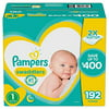 Pampers Swaddlers Diapers Size 1, 192 Count