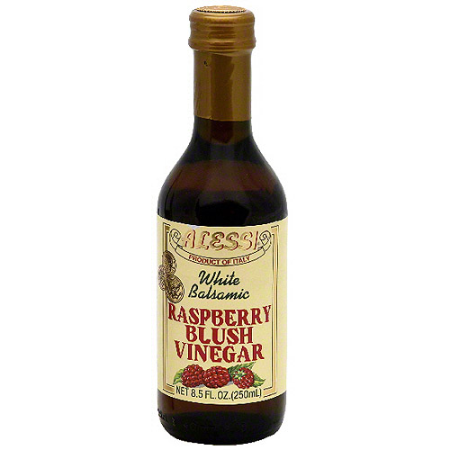 Alessi Raspberry Blush White Balsamic Vinegar, 8.5 oz (Pack of 6) by Generic