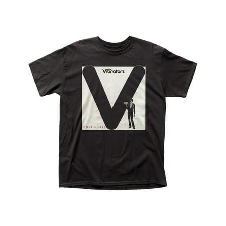 The Vibrators British Punk Rock Band Music Group Pure Mania Adult T-Shirt