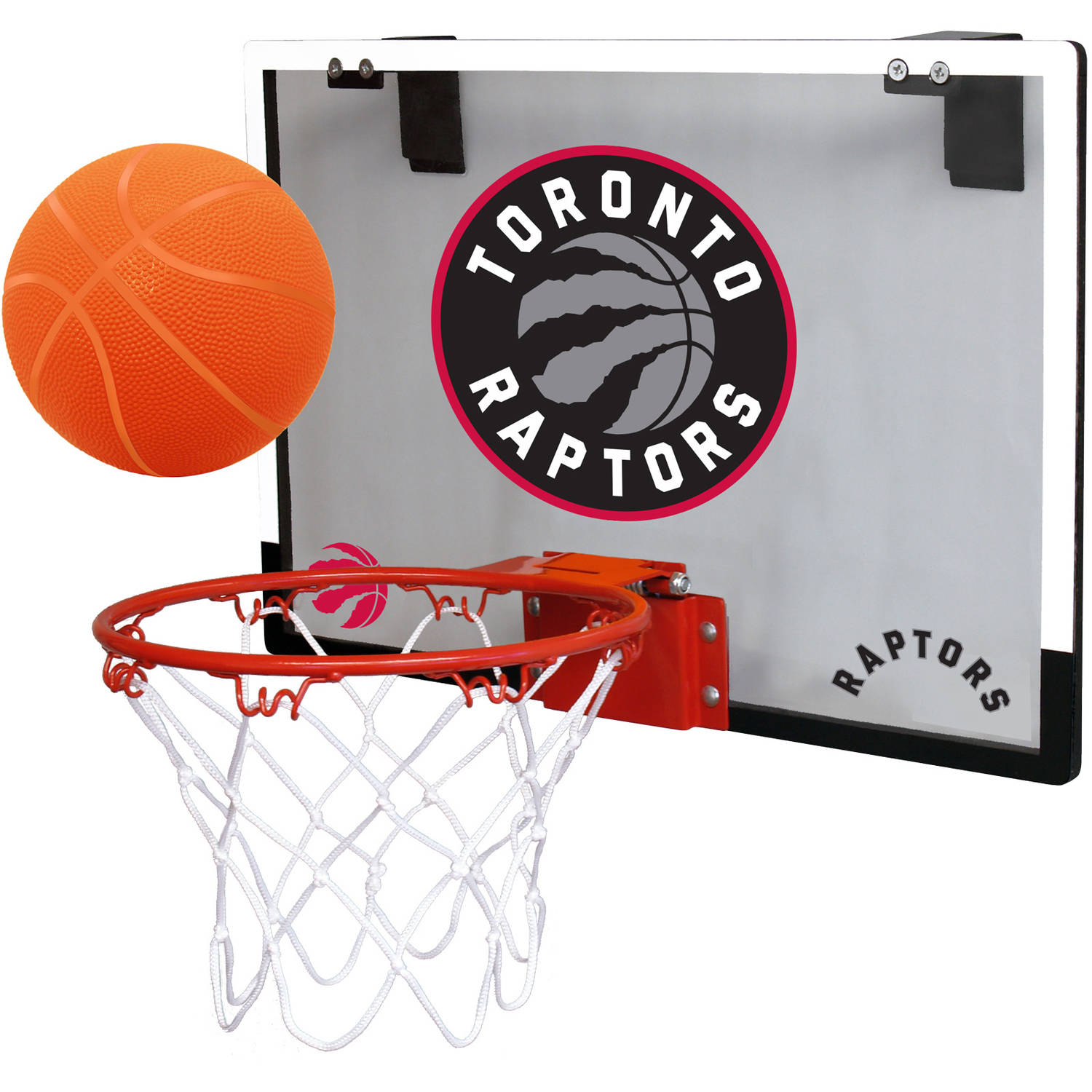 Rawlings NBA Game On Polycarb Hoop Set Toronto Raptors