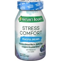 Nature's Bounty Stress Comfort Peaceful Dreams Gummies, 42 ct