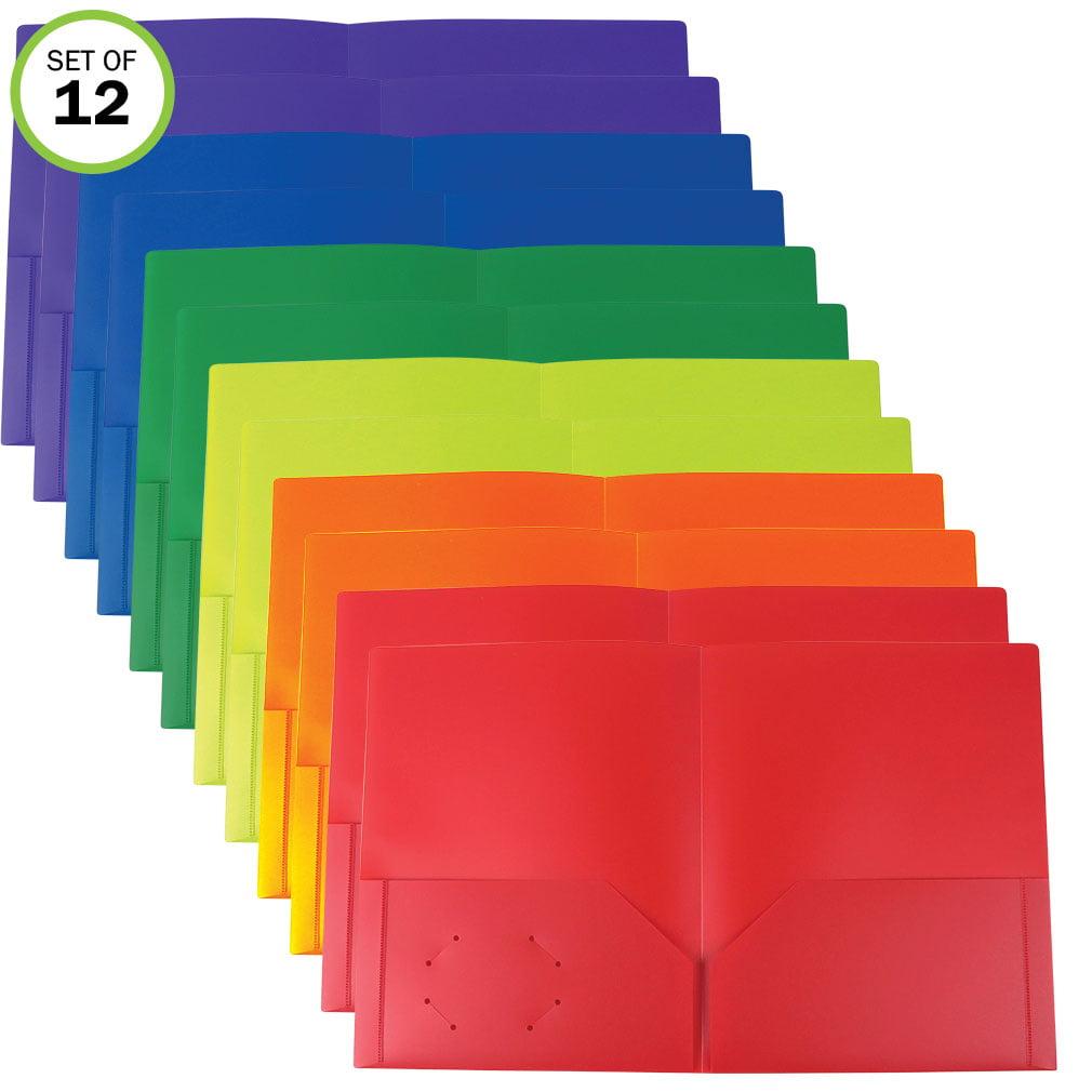 Heavy Duty Plastic Folders