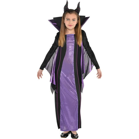 Suit Yourself Maleficent Halloween Costume for Girls, Sleeping Beauty, Includes Accessories](Elf Yourself For Halloween)