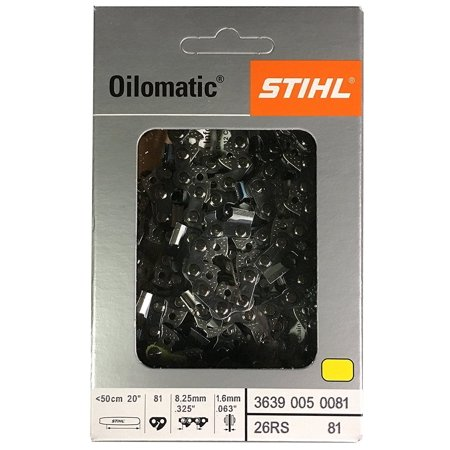 066 Ms660 Stihl Chainsaw (STIHL Oilomatic 26 RM3 81 Rapid Super Chainsaw Chain - 1 Pack + 30% Off! )