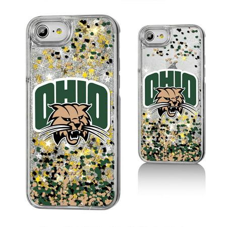 Ohio University Bobcats Confetti Glitter Case for iPhone 8 / 7 / 6