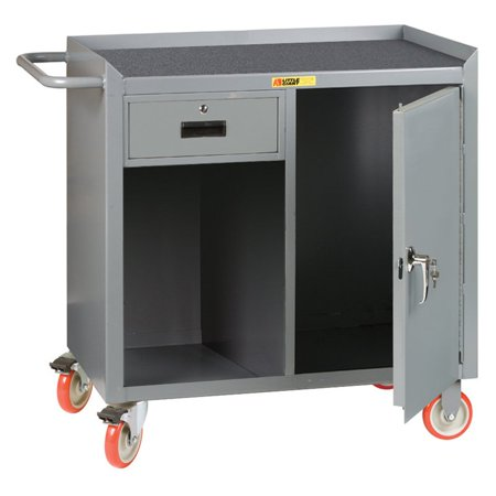 Mobile Drawer Bench - Little Giant Mobile Bench Cabinet with Locking Storage Drawers
