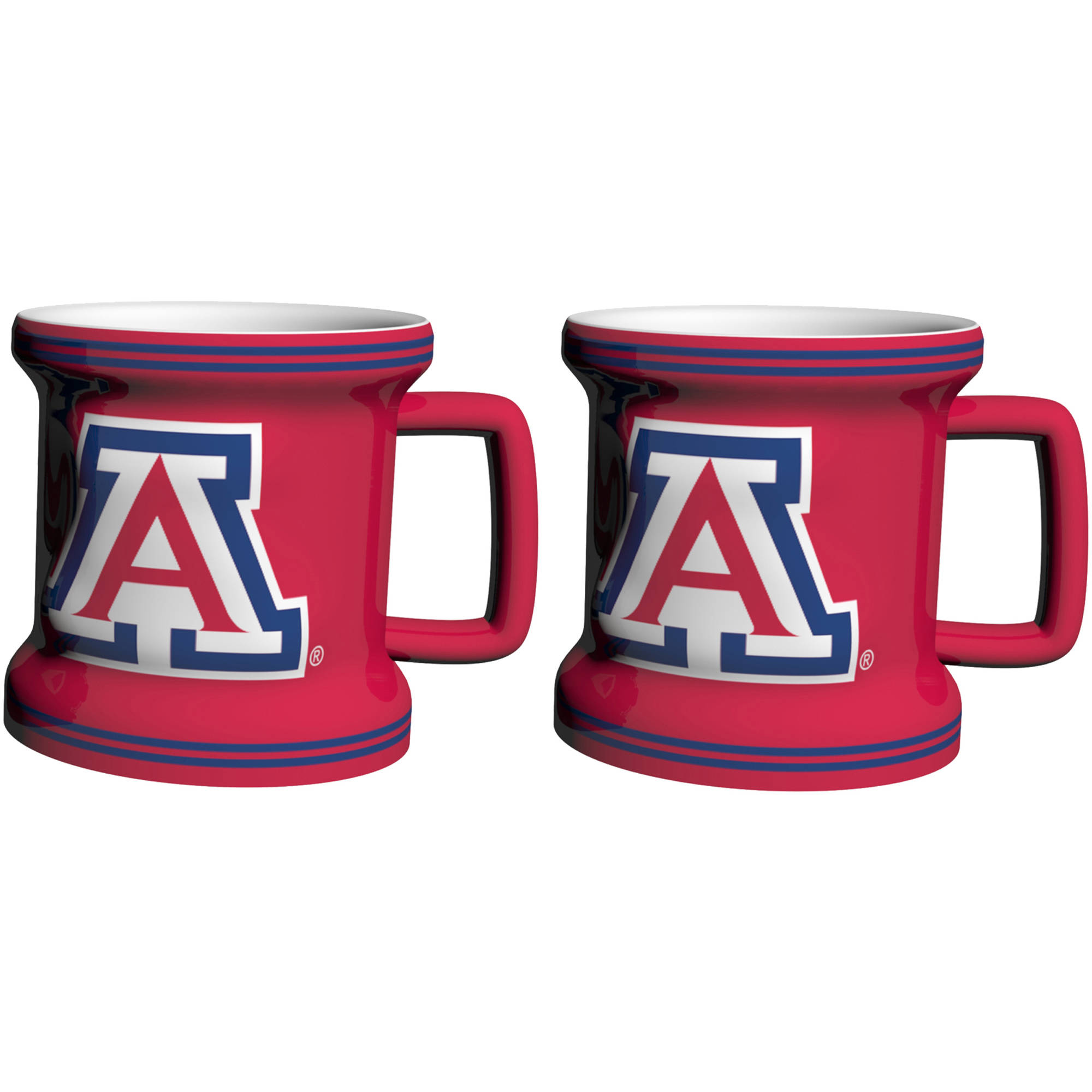 NCAA Arizona Wildcats 2-Pack Sculpted Mini Mug