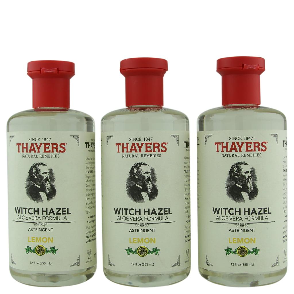 Thayer's Lemon Witch Hazel Astringent with Aloe Vera 3 ct 12 oz