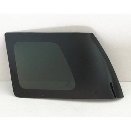 Rear Side Glass - For 2007-2014 Toyota FJ Cruiser4 Door Utility Driver/Left Side Rear Quarter Window Replacement Glass