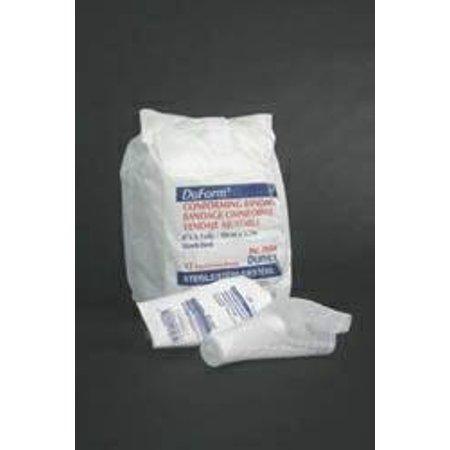 Conforming Stretch Bandage McKesson Brand Poly/Rayon Blend 4 Inch X 4.1 Yard, Stretched Roll (Stretch Rayon Blend)