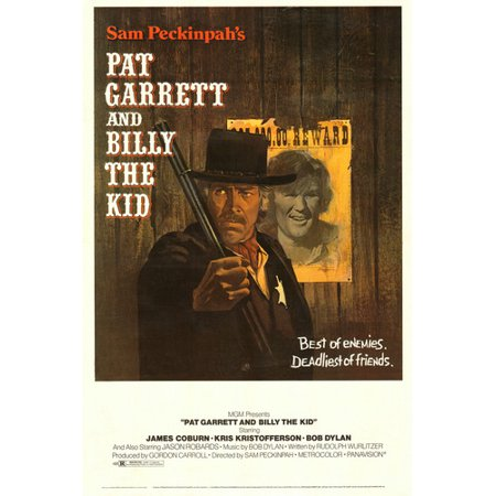 James Coburn and Bob Dylan and Kris Kristofferson in Pat Garrett & Billy the Kid 24x36