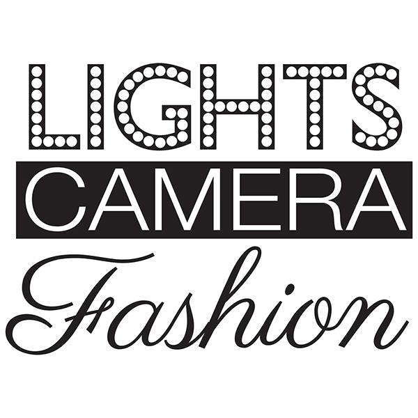 WallPops Lights Camera Fashion Wall Quote