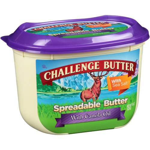 Challenge Spreadable with Canola Oil Butter, 15 oz