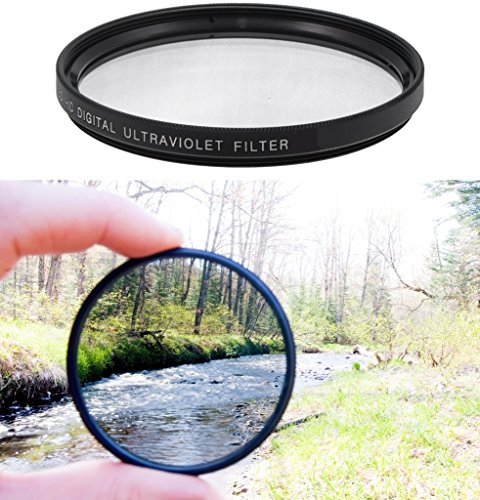 Professional High Definition 77mm Clear Digital Ultra Violet UV Filter for Canon Zoom Wide Angle-Telephoto EF 28-300mm f/3.5-5.6L IS USM