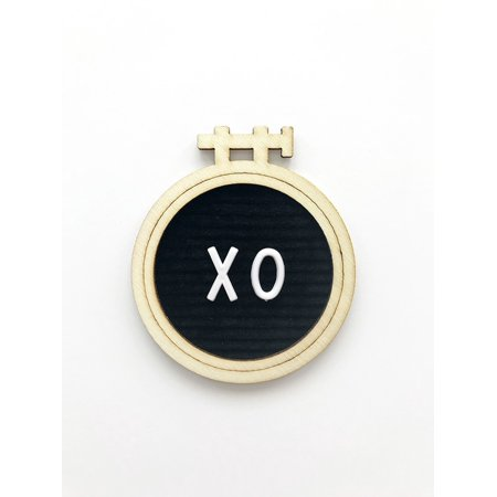 XO Letterboard Embellishment - Magnolia Moments - Fancy Pants