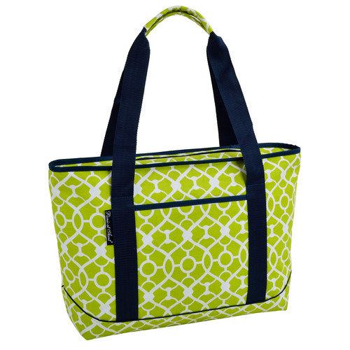 Picnic At Ascot Trellis Large Insulated Tote Cooler