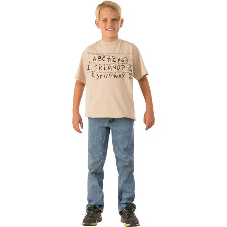 Stranger Things-Childrens Alphabet Shirt (Alphabet Halloween)