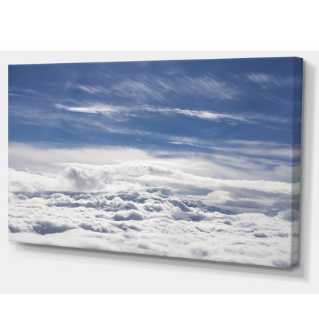 Flight over Bright Clouds - image 1 of 3