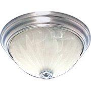 "Volume Lighting V7730 Marti 1 Light 11"" Wide Flush Mount Bowl Ceiling Fixtu"