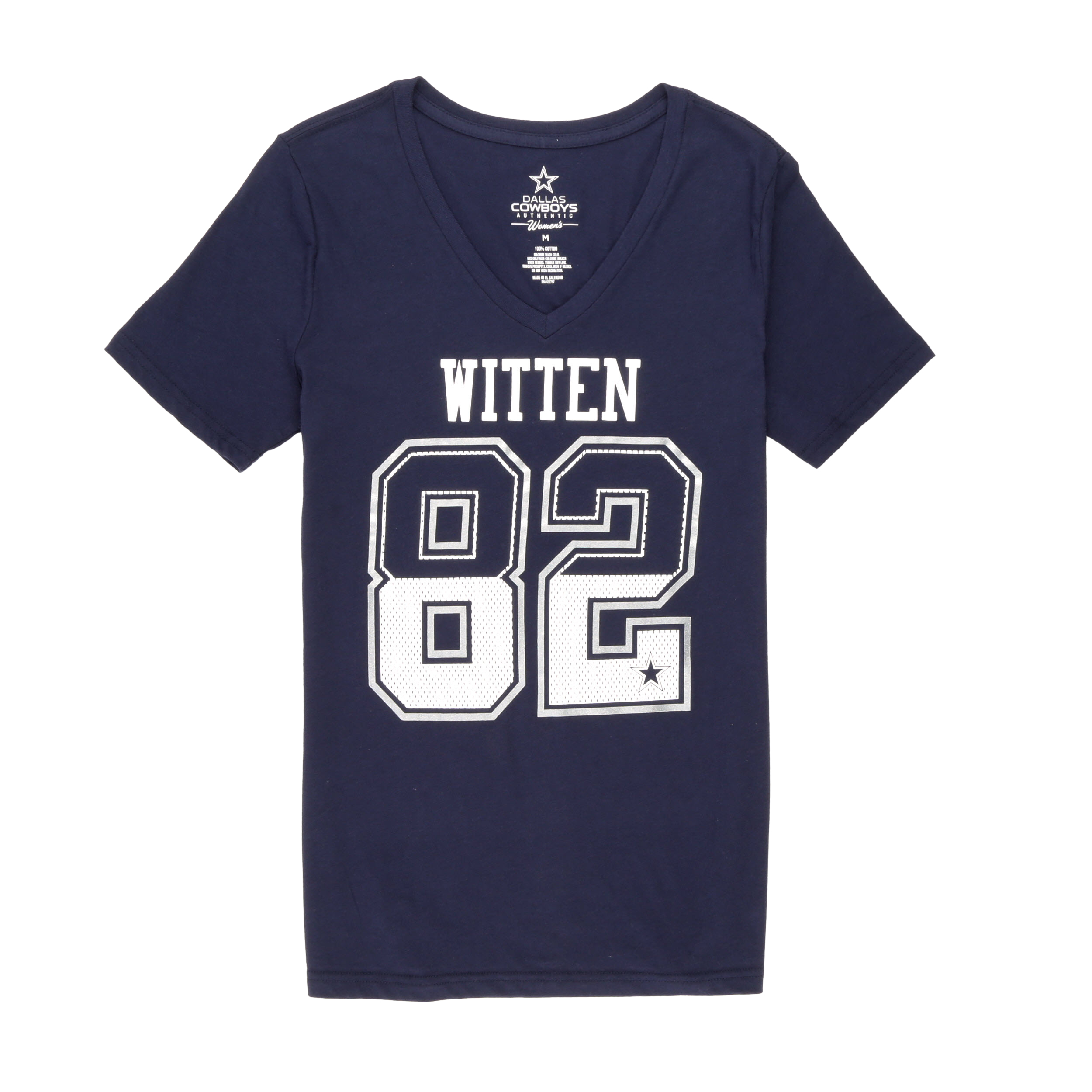 NFL Dallas Cowboys Women's Jason Witten Short Sleeve Tee Shirt