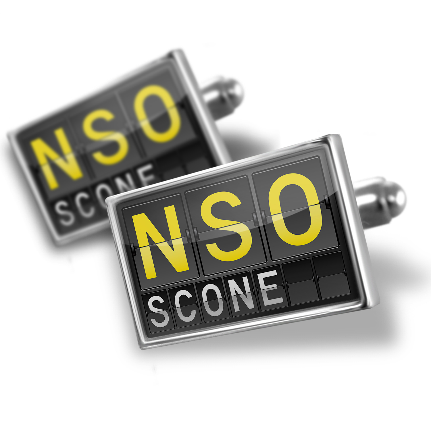 Cufflinks NSO Airport Code for Scone NEONBLOND by NEONBLOND
