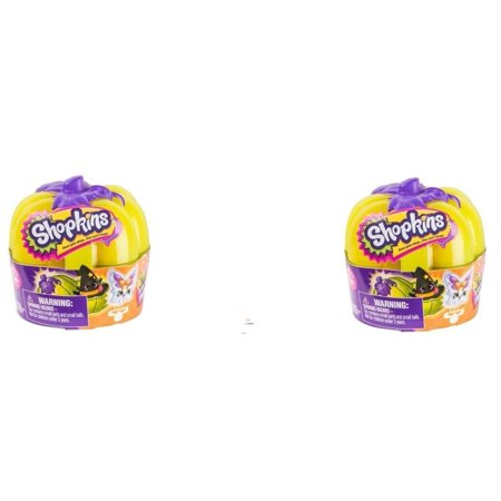 Halloween Pumpkin with Glow in the Dark Pumpkin 2017 (2 pack), New 2017 Pumpkins By Shopkins - Halloween Central Park 2017