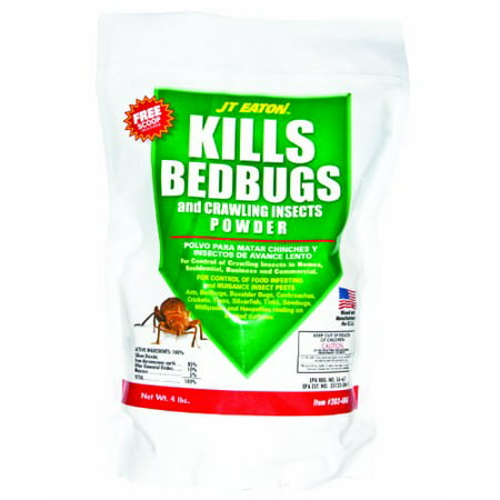 Powder Repellent - Best Insect Repellent Powder to Kill Bedbug & Crawling Insect Cockroaches - 4lbs