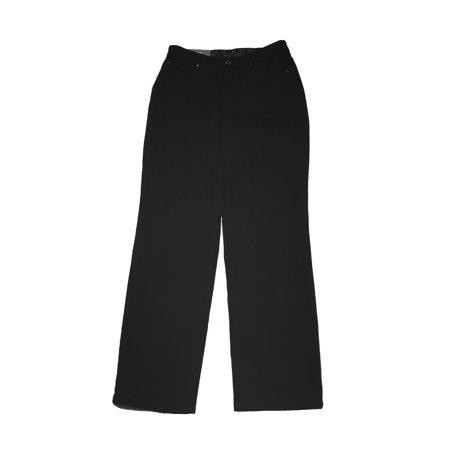Jm Collection Black Embellished Saturated Black Wash Straight-Leg Jeans 6