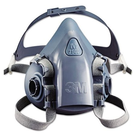 - 3M™ Half Facepiece Reusable Respirator 7502/37082(AAD) Medium 10 EA/Case