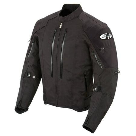 Joe Rocket Atomic 4.0 Mens Black Textile Motorcycle Jacket (Textile Motorcycle Jacket Reviews)