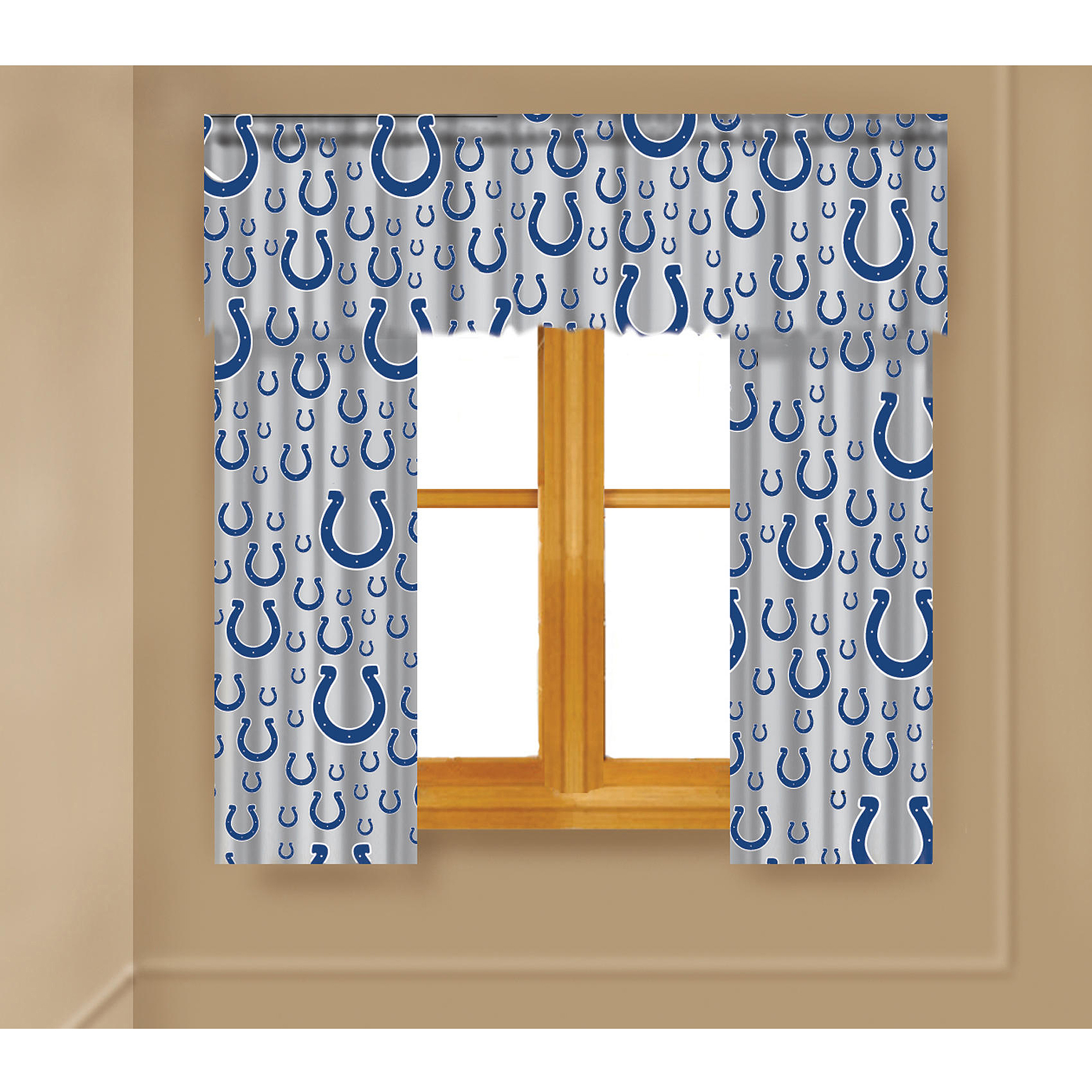 NFL Indianapolis Colts Window Curtain Panels