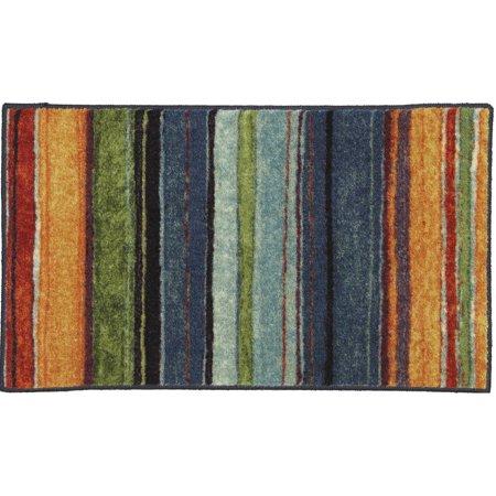 Mohawk Home Carnival Stripe Printed Nylon Rug