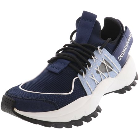 Calvin Klein Men's Tolbek Navy / Chambray Ankle-High Sneaker - 8M