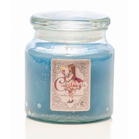 SPA MASSAGE THAI - Courtneys Candles Maximum Scented 16oz Medium Jar Candle - Burns 140 Hours