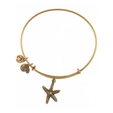Alex And Ani Starfish Bangle Bracelet