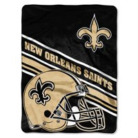 New Orleans Saints The Northwest Company 60'' x 80'' Slant Rashcel Throw